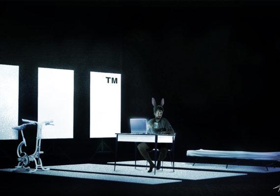 Un Coniglio, solo